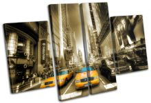 New York Yellow Taxi Cab City - 13-1806(00B)-MP17-LO